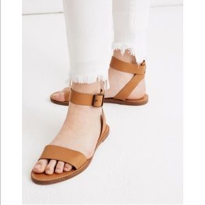 Madewell Boardwalk Leather Sandal 10